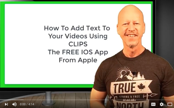 Add text to your videos