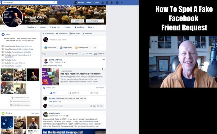 How To Spot a Fake Facebook Friend Request